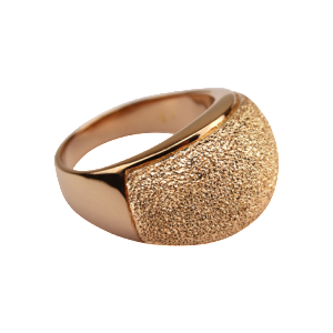 By Q Exclusive Ring Stardust rose