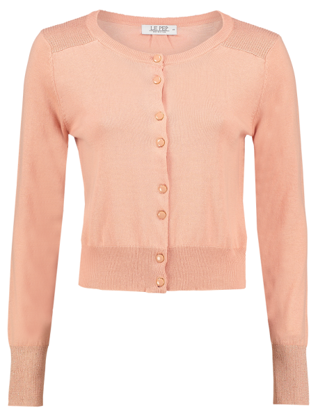 cardigan Elisabeth dusty pink