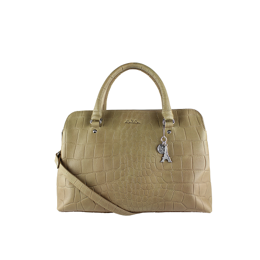 12BAG Medium Vintage Croco - 014 Sand