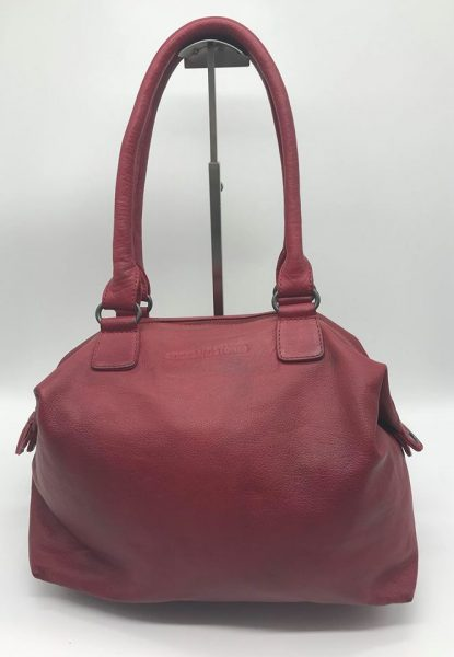 Atlanta bag cherry red