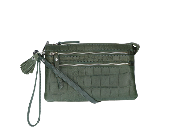 04pouch04 forrest green