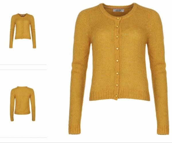 Cardigan Bette honey